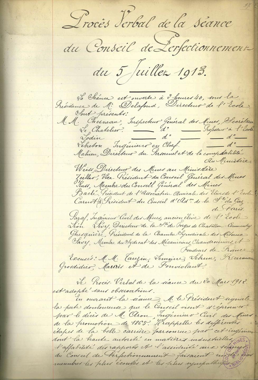Conseil de perfectionnement du 5 juillet 1913.jpg