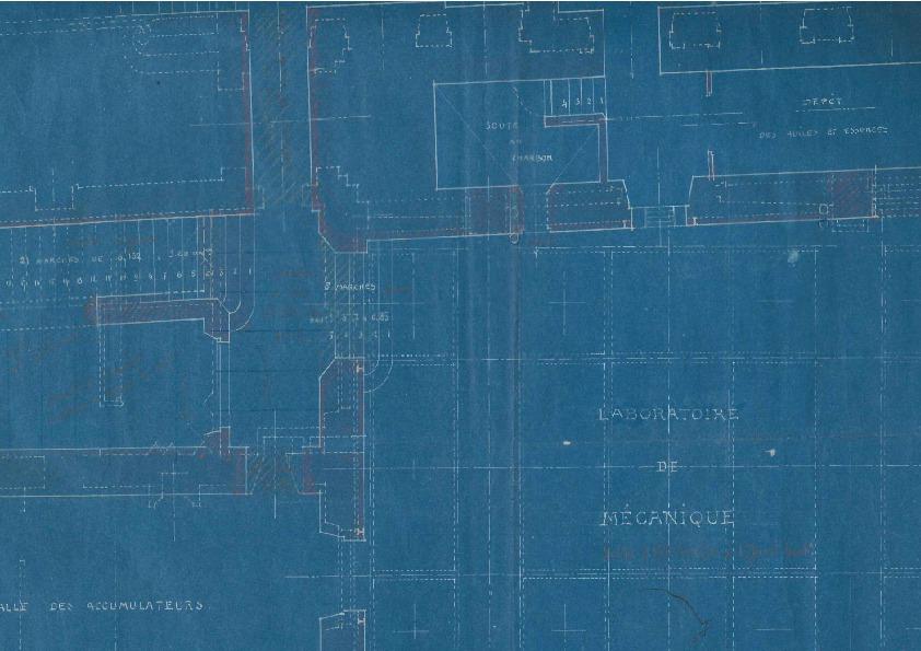 Plan du laboratoire de mécanique