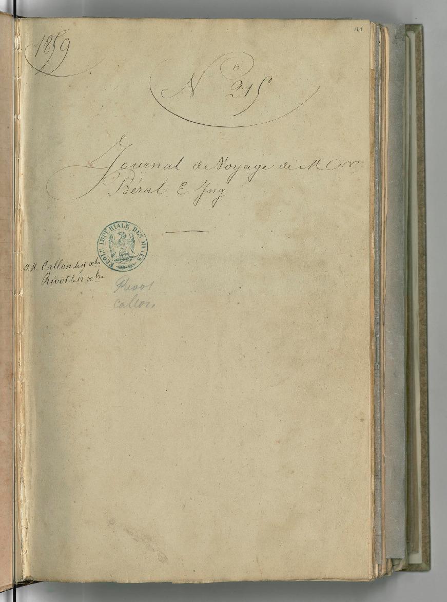 Journal de voyage dans le sud de la France et le nord de l'Espagne