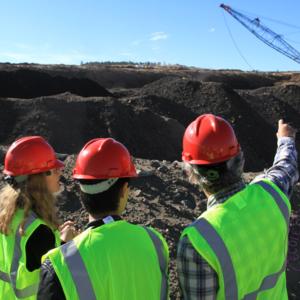 Visite de chantier aux Etats-Unis par les élèves de l'option sol & sous-sol.
