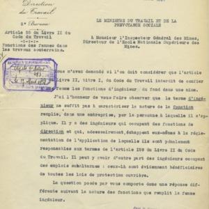 Courrier ministère du travail 1931.jpeg