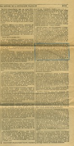 Extrait du journal officiel du 20 mars 1917