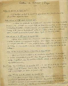 Citations militaire de Jean Faye