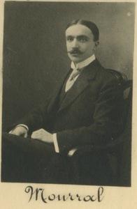 Photographie du sous-lieutenant Jean Mourral (Promotion 1911)