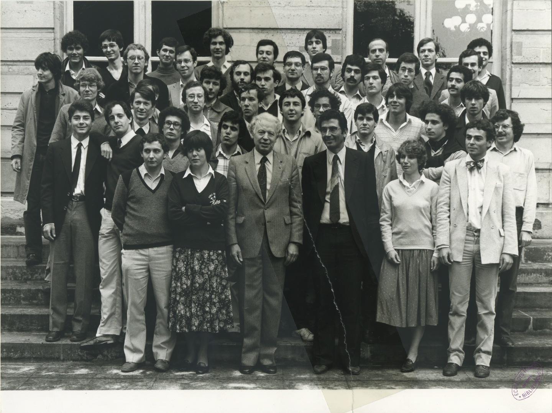 Promotion des élèves entrés à l'école en 1978.