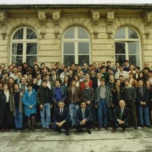 Elèves entrés à l'école en 1988, cycle ingénieur civil.