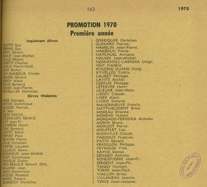 Annuaire de l'association des anciens élèves de l'Ecole des mines de Paris, de Saint-Etienne et de Nancy.