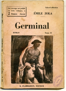 Couverture de Germinal, 1930