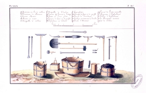 Outils houillères de Littry, 1800