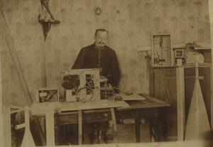 Photographie de l'appareil enregistreur de mesures sonores de Ferdinand Daussy