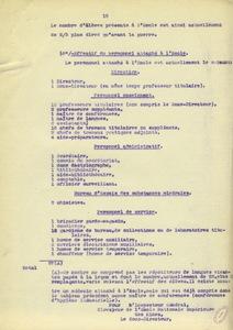 Extrait du rapport adressé à l'Inspecteur général des mines par Gabriel Chesneau, 1921